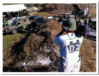 Cameron Roberts from D7 Inc is videotaping the annual SWAT Roundup in Orlando,FL.